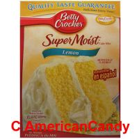 Betty Crocker Super Moist Lemon Cake Mix 432g
