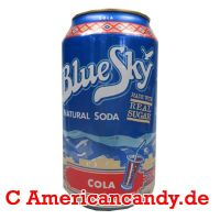 Blue Sky Cola Soda