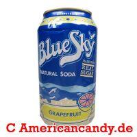 Blue Sky Grapefruit Soda