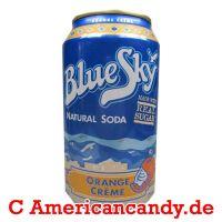 Blue Sky Orange Creme Soda