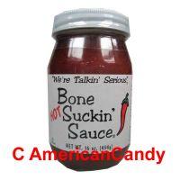 Bone Suckin' Hot Barbecue Sauce 454g