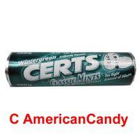 Cadbury Adams Wintergreen Certs Classic Mints