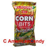 Corn Bits Snack Super Garlic Flavor