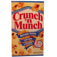 Crunch 'n Munch Popcorn Buttery Toffee 99g