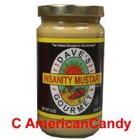 Dave's Insanity Mustard 226g