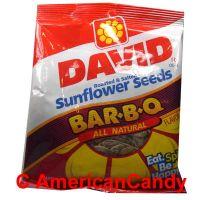KNÜLLER 6 x 149g David Sunflower Seeds Original & BBQ USA