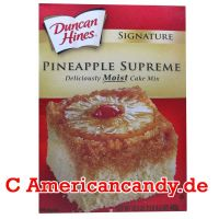 Duncan Hines Pineapple Supreme Moist Cake Mix 468g