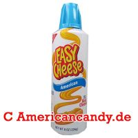 Kraft Easy Cheese American Zip 226g