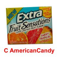 KNÜLLER 10x Wrigley's Extra Fruit Sensations Sweet Tropical 15er