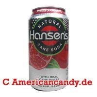 Hansen's Natural Soda Pomegranate