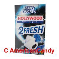 Hollywood 2Fresh Chewing Gum Parfum Menthe Fraîche Réglisse