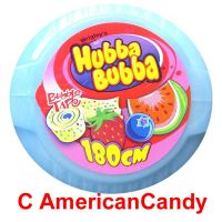 Hubba Bubba Bubble Tape Tape Triple Mix Erdbeere Blaubeere Wasse