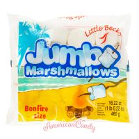 Little Becky JUMBO Marshmallows Original BONFIRE SIZE 460g