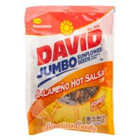 David Sunflower Seeds Jalapeno Hot Salsa 149g
