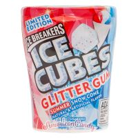 Ice Breakers Ice Cubes Glitter Gum MEGA PACK