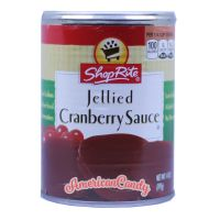 Shop Rite Jellied Cranberry Sauce 454g