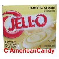 Jell-O Banana Cream Instant Pudding & Pie Filling