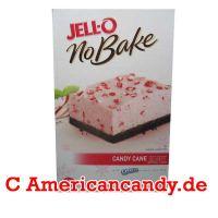 Jell-O No Bake Candy Cane Dessert 297g