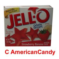 Jell-O Instant Pudding Gelatin Dessert Strawberry Banana