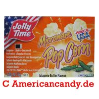Jolly Time Microwave Popcorn Jalapeno Butter 85g