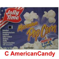 Jolly Time Microwave Popcorn Sugar 100g