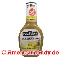 KC Masterpiece Marinade Lemon & Cracked Pepper 473ml