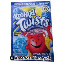 Kool Aid Twists Ice Blue Raspberry Lemonade