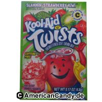 Kool Aid Twists Slammin' Strawberry Kiwi