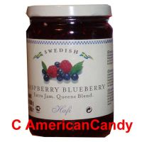 Swedish Jam Raspberry Blueberry 450g