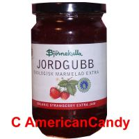 Swedish Organic Strawberry Extra Jam 400g