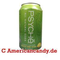 PSYCHE Natural Soda Lemon Lime