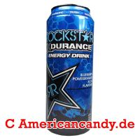 Rockstar X Durance Blueberry Pomegranate Acai Energy Drink incl.