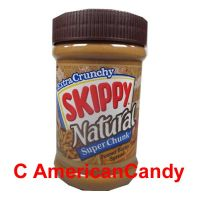 SKIPPY Extra Crunchy Natural Super Chunk Peanut Butter Spread 42