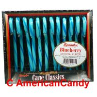 Spangler Candy Canes Blueberry 170g