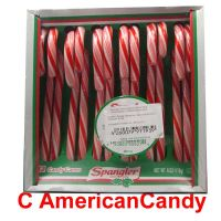 Spangler Candy Canes Peppermint red & white 170g