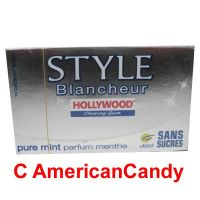 Hollywood Style Gum Blancheur Parfum Menthe