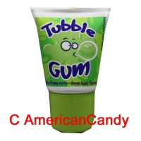 Tubble Gum Green Apple Tube
