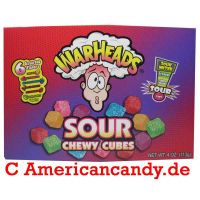 Warheads Sour Chewy Cubes 99g