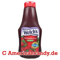 Welch's Squeezable Concord Strawberry Spread 624g
